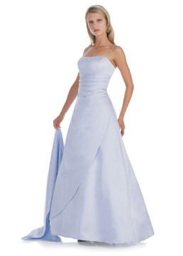 Pretty as a Picture Gown for Vow Renewal