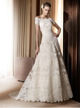 Princess Lace Wedding Gown