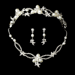 Duchess of York Crystal Tiara Set