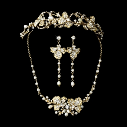 Duchess of Windsor Pearl Tiara Set