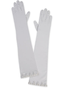 Satin Bridal Gloves