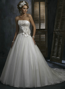 Organza Wedding Dress