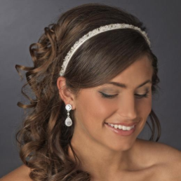 Alice Beaded Crystal Bridal Hairband