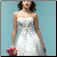 Princess Style Satin Wedding Dress - close-up of embroidered bodice