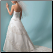 Princess Sweetheart Neckline Tulle Wedding Dress - showing delicate back and train