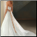 Strapless Sweetheart Neckline Satin Gown - back view showing elegant back and train