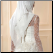 High Neckline Long Sleeve Lace Muslim Wedding Dress with Hijab - close-up of back of dress