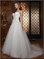 Casablanca Princess Style Tulle Gown