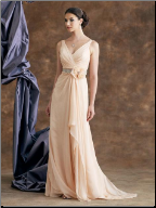 Elegant Chiffon Mother of the Bride Gown