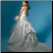 Plus Size Princess Satin Wedding Gown - back of gown
