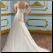 Sweetheart Neckline Taffeta Wedding Dress - back view showing lace up back and train