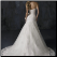 Strapless Sweetheart Neckline Lace Gown - back of gown showing corset style lace up back