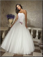 Charming Quinceanera Gown in Satin and Organza