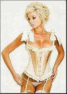 Darling Debutante Fashion Corset with Ruffles