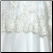 Affordable Lace over Tulle Muslim A-Line Wedding Dress, lace fabric