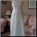 Alfred Angelo Gown with Scoop Neck and Beading for rent - back of gown