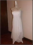 Pre-owned Simple Handkerchief Hem Dress size 14