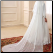 Arabic Beaded Lace High Neck Muslim Wedding Dress - back of gown
