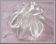 Cute Drawstring Bridal Bag