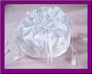 Beautiful Bridal Drawstring Bag