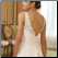 Beautiful Taffeta and Lace Bridal Gown - back of gown