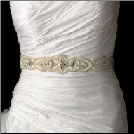 Charming Wedding Sash Bridal Belt