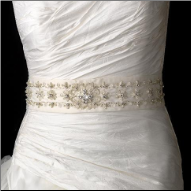 Elegant Wedding Sash Bridal Belt