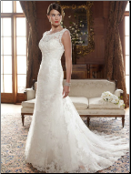 Casablanca Lace Wedding Dress