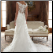 Casablanca Lace Wedding Dress showing back of gown