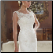 Casablanca Lace Wedding Dress showing detailed lace bodice