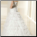 Charming Layered Organza Wedding Gown - back of gown