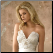 Charming Satin and Lace Bridal Dress - close-up of bodice