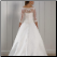Beautiful Satin and Lace Bridal Gown - back of gown