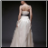 Chic Satin and Organza Wedding Dress - back of gown