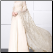 Chiffon Bridal Gown with Long Lace Sleeves