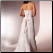 Classic Strapless Satin Gown - back of dress showing lace-up back