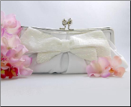 Matte Satin Bridal Evening Bag