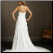 Empire Line Chiffon Bridal Gown - back of gown