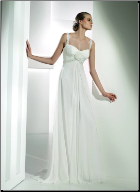 Empire Line Floor Length Chiffon