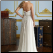 Empire Line Halter Neckline Chiffon showing the back of this gown