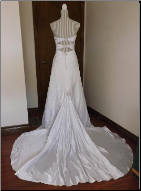 Amazing Essence of Australia Sweetheart Neckline Gown for rent - size 4