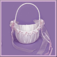 Bridal Flower Girl Petal Basket