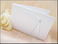 Rhinestones and Ribbons Guest Book