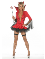 Naughty Little Devil Costume