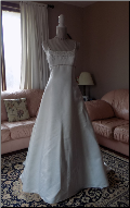 Genuine Paloma Blanca Bridal Gown in stock size 12