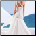 Mermaid One-Shoulder Tulle Wedding Gown - back view showing shoulder strap