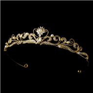 Sophie of Lichtenstein Gold and Pearl Tiara