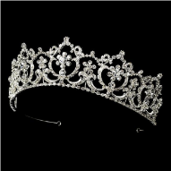 Maria of Austria Crystal Tiara