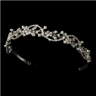Silvia of Sweden Crystal Vine Tiara