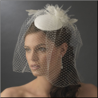 Gorgeous Vintage Inspired Bridal Hat